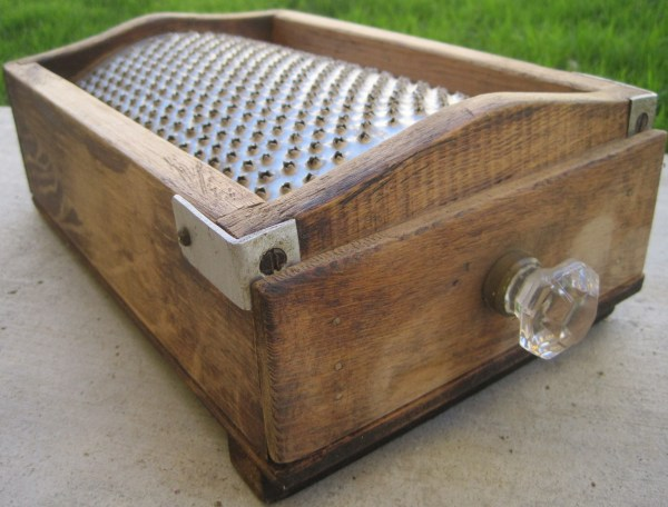 Antique Cheese Grater Box