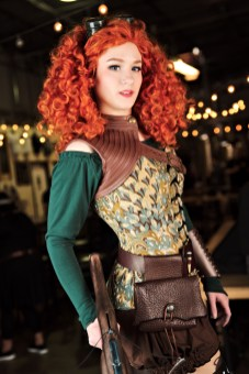 Sara Cosplays as Merida