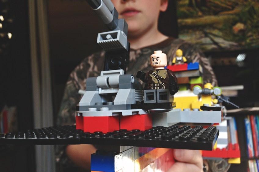 Still playing Legos