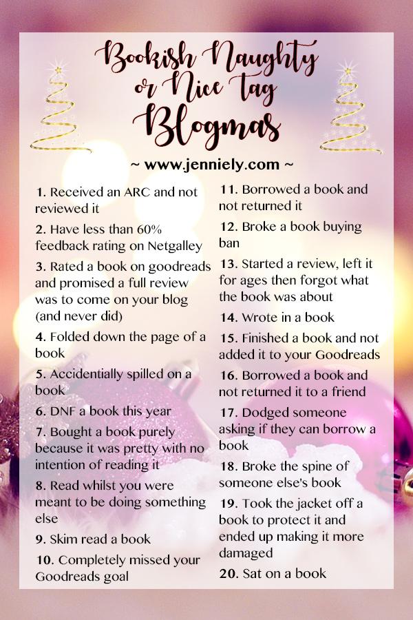 Bookish Naughty or Nice Tag