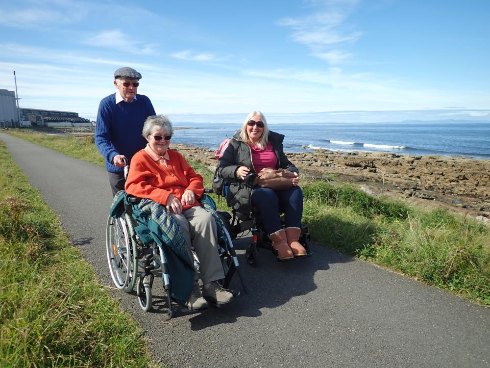 'Wheels in the Wild' - An Ethnobotanical walk for families and wheelchair users