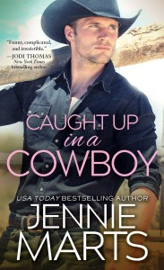 Final cover for Caught Up In a Cowboy