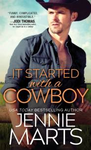 It Started With a Cowboy Cover