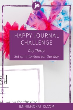 Have you ever set an intention for your day or even the next moment you're walking into? This practice is integral for living in the moment and practicing joy! I hope you'll join me for this last day of our challenge!