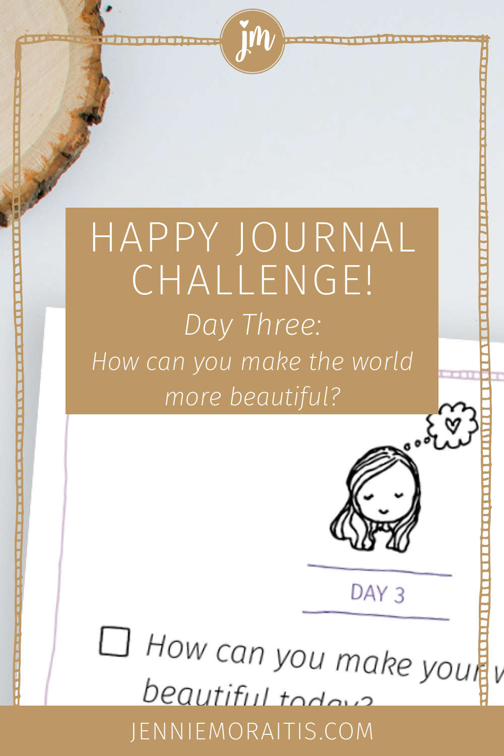 Looking for a way to find more joy in your life? You'll LOVE this simple (and fun) happy journal challenge! Click through to watch the video!