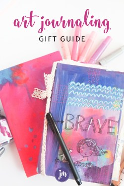 Yes! I am new to art journaling and this guide really helped me. Now I'm inspired to make some art journal love gifts for my friends for Christmas!