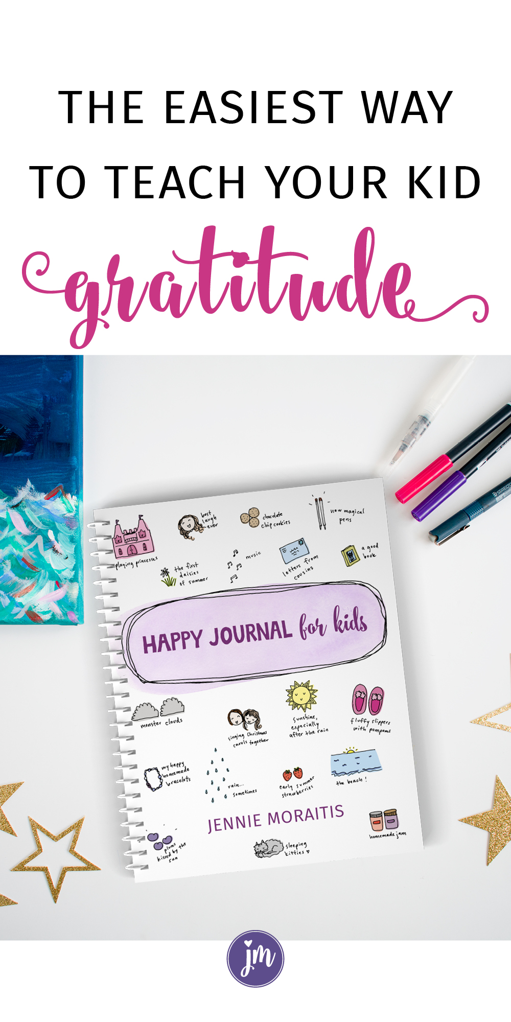 Oh my goodness, I love this gratitude journal for kids! I printed one out and my daughter filled almost the entire thing up the FIRST day! She had so much fun thinking about the things that make her happy, and I was inspired to join in with a happy journal of my own. Perfect for kids of all ages! :) #happyjournalhappylife #gratitudejournal #gratitudejournalforkids