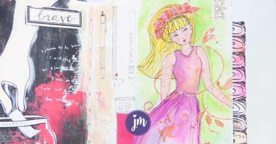 I love these art journaling ideas. They are great for beginners!