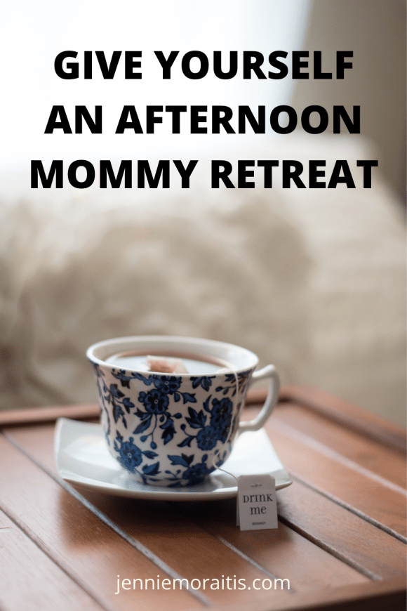 Wouldn't it be nice to escape on a retreat in the afternoon? Maybe you can't actually leave the house because you have littles, but you can still treat yourself to some quiet time and a retreat. Here's how...