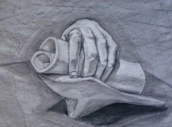 Hand Cast Study, 2011