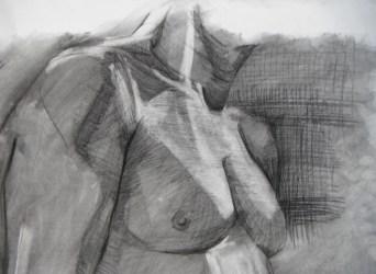 Chest Study, Anthony, 2011