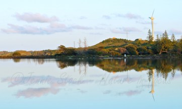 Herschel Lake at sunrise, Rottnest Island