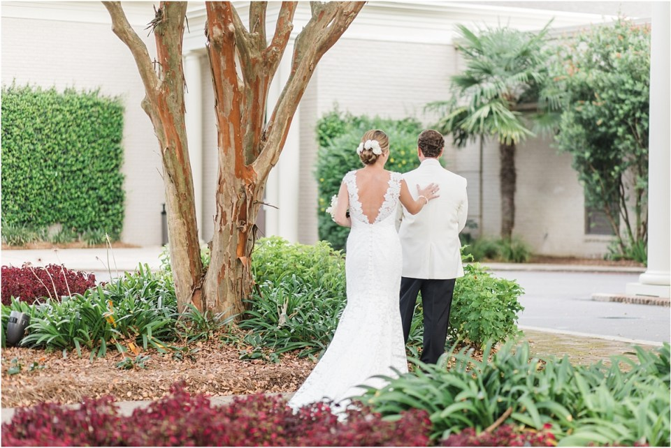 Mobile Country Club Wedding Photographer