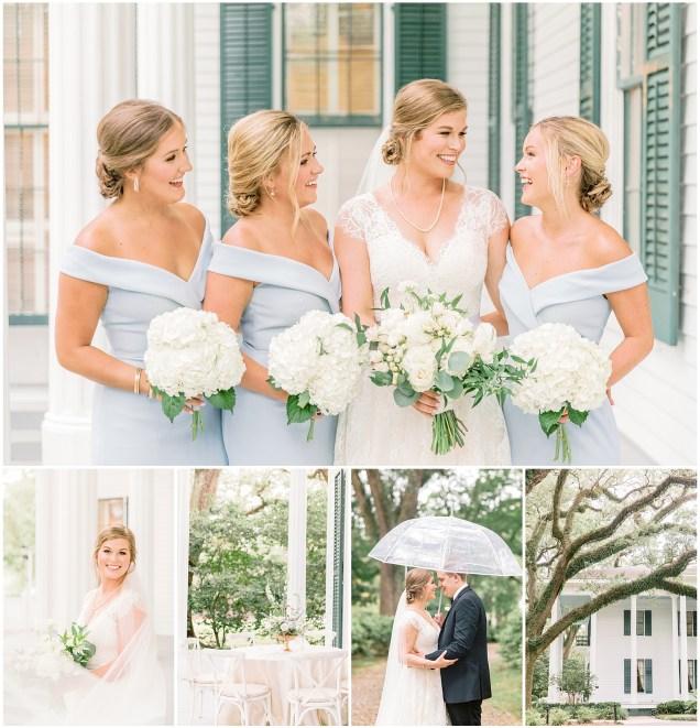 Wedding taken place at the Bragg Mitchell Mansion in Mobile, Alabama
