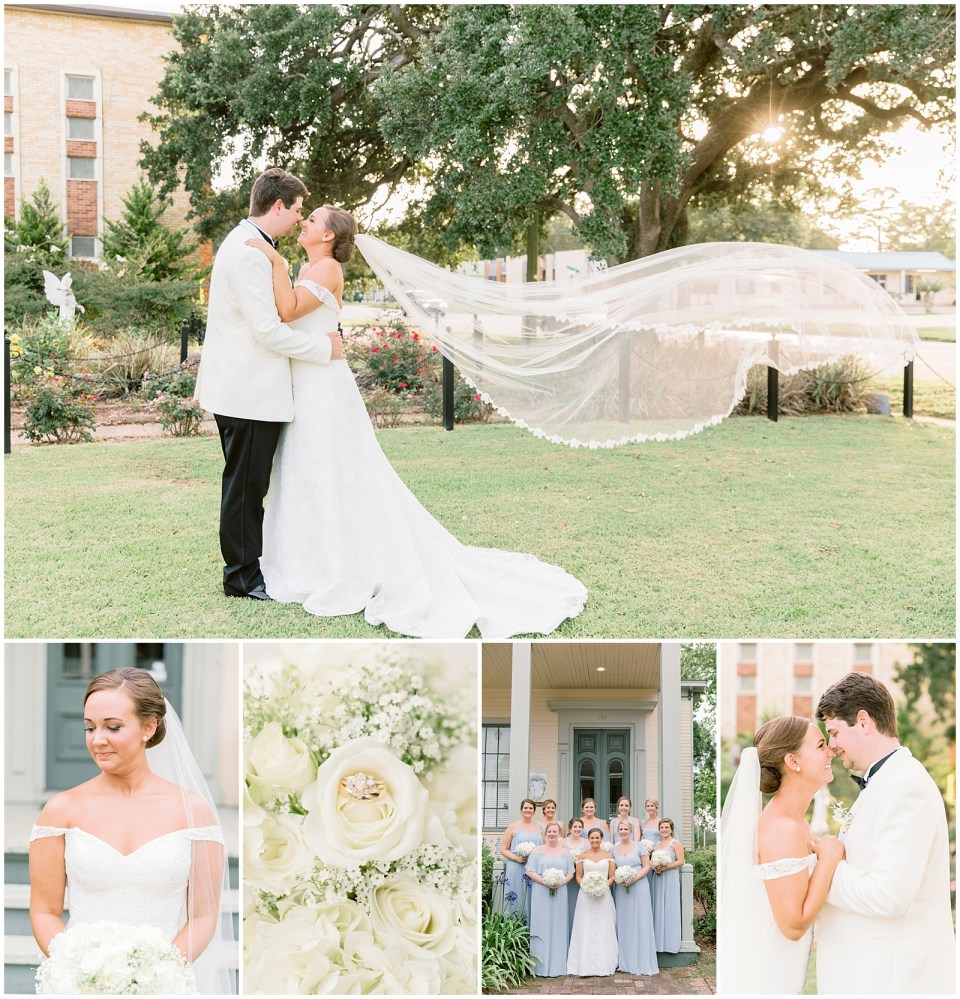 Fort Conde Inn wedding in Mobile, Alabama