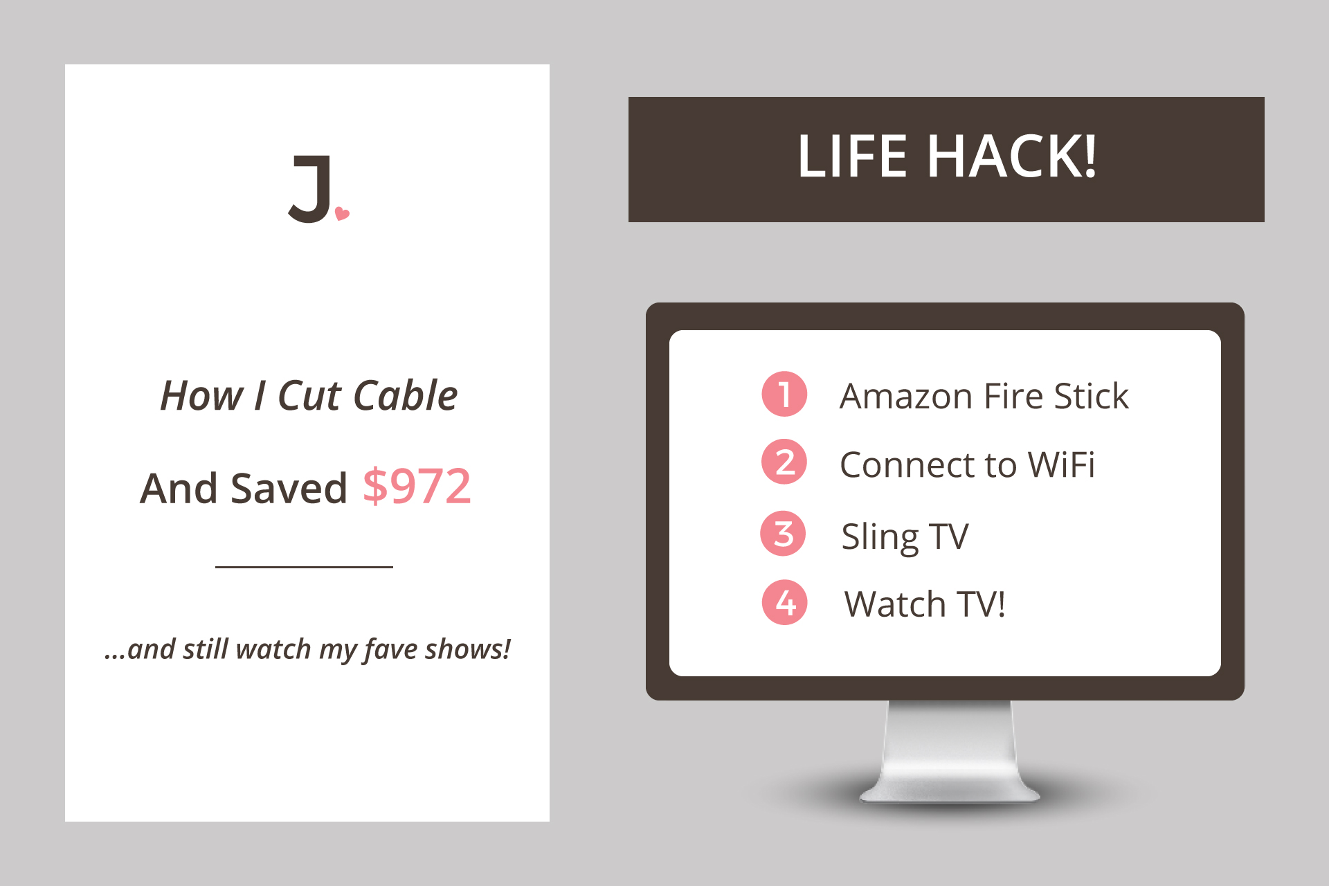 Cancel Cable Save Money: It's March Madness and with so much attention focused around watching sports on TV, I figured it's the perfect time to bring you my first Life Hack where I cancel cable save money!