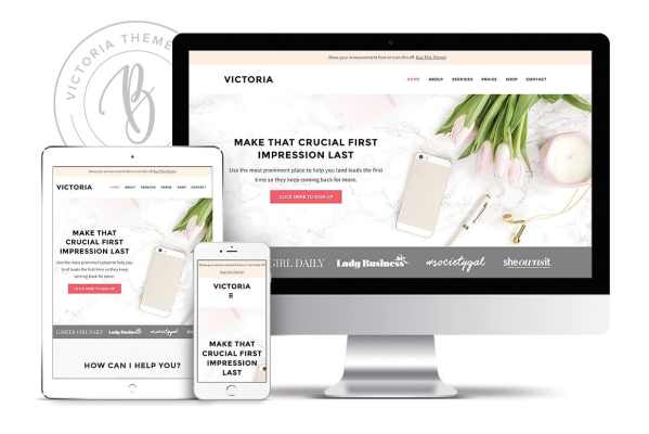 A blog ecommerce WordPress theme for girl bosses and blog shops to showcase their business online in an elegant way.Learn more at Jennifer-Franklin.com.