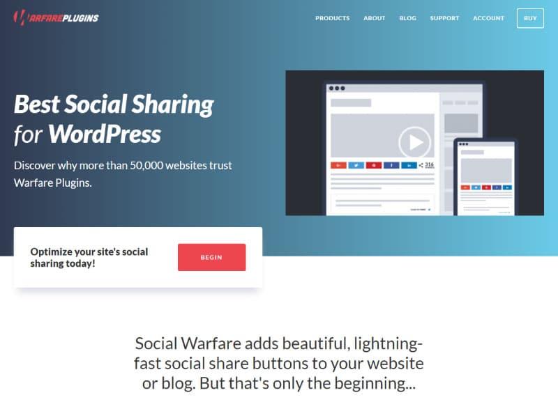 WordPress Plugin   Social Warfare   Jennifer Franklin