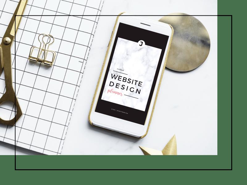 Website Design Tips For Beginners | Website Font Combinations | Website Design Planner | Free Download | Jennifer-Franklin.com
