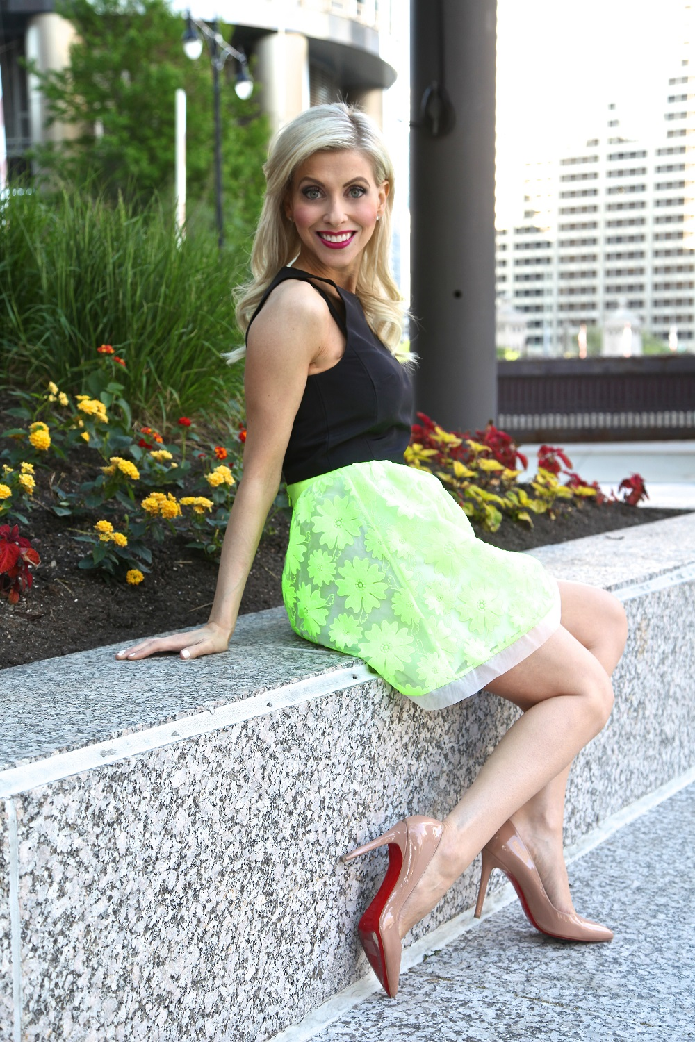 Neon Skirt, Jennifer Lane