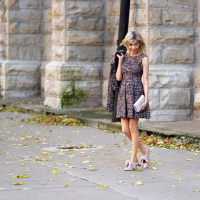 A Classic Tweed Outfit For Fall