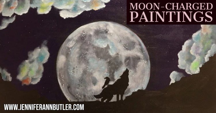 Moon-Charged Paintings
