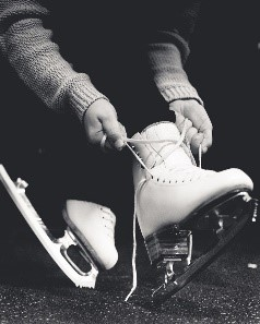 Jennifer Barnfield - Getting my skates on