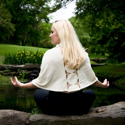 branding, portrait, outdoor, Valley Garden Park, meditation