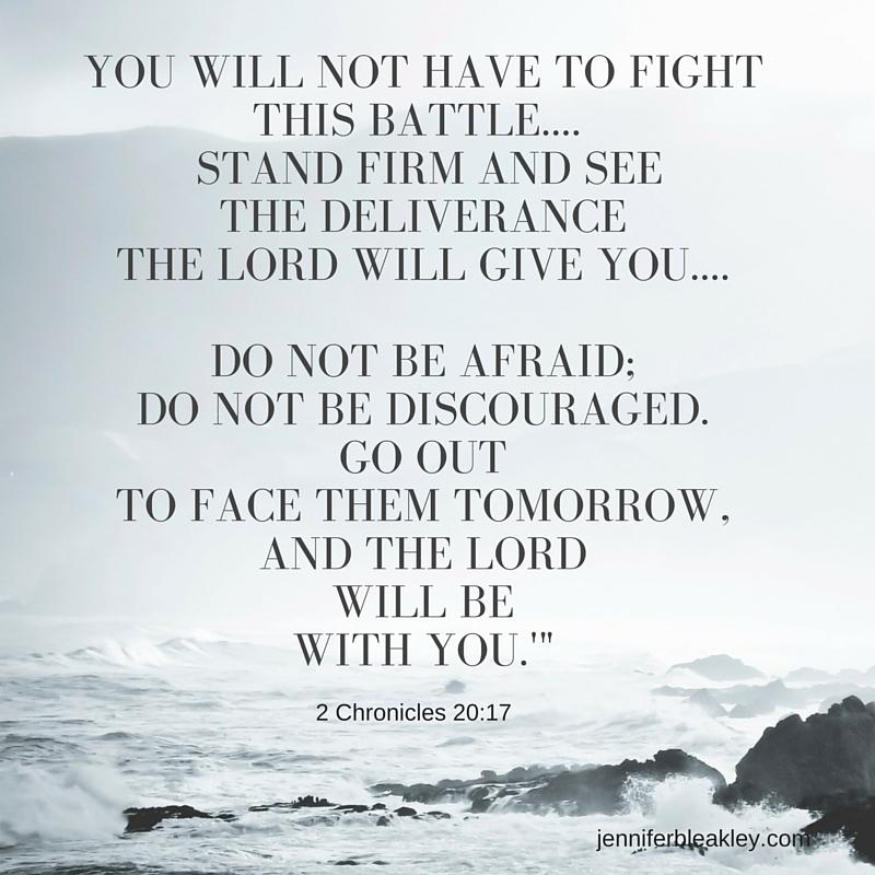 2 Chronicles 20-17