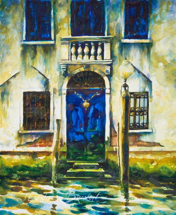 Italy Watercolor Paintings