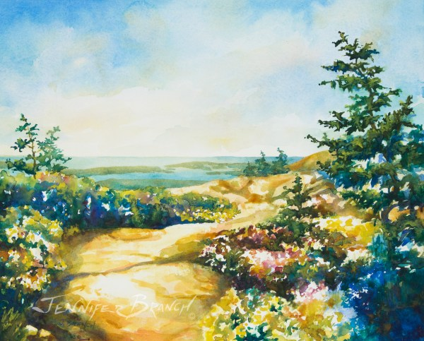 Maine Watercolor Paintings