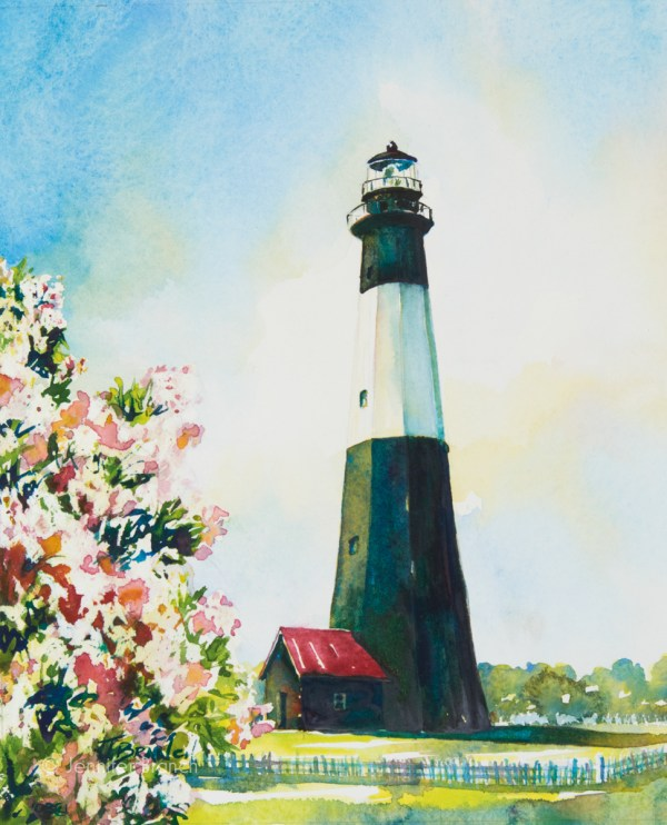Lighthouses Watercolor Paintings