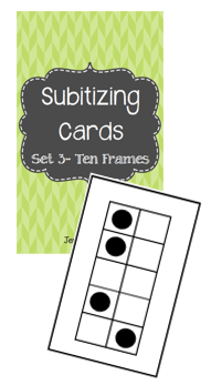 Subitizing Ten Frames