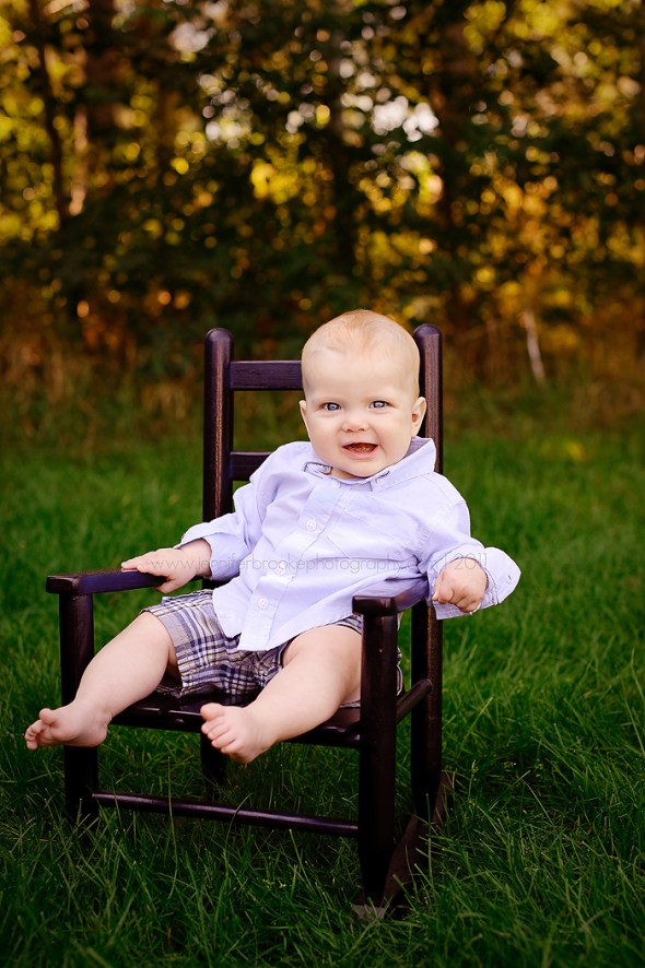 6 month old portraits  Studio and Outdoor Session Twin