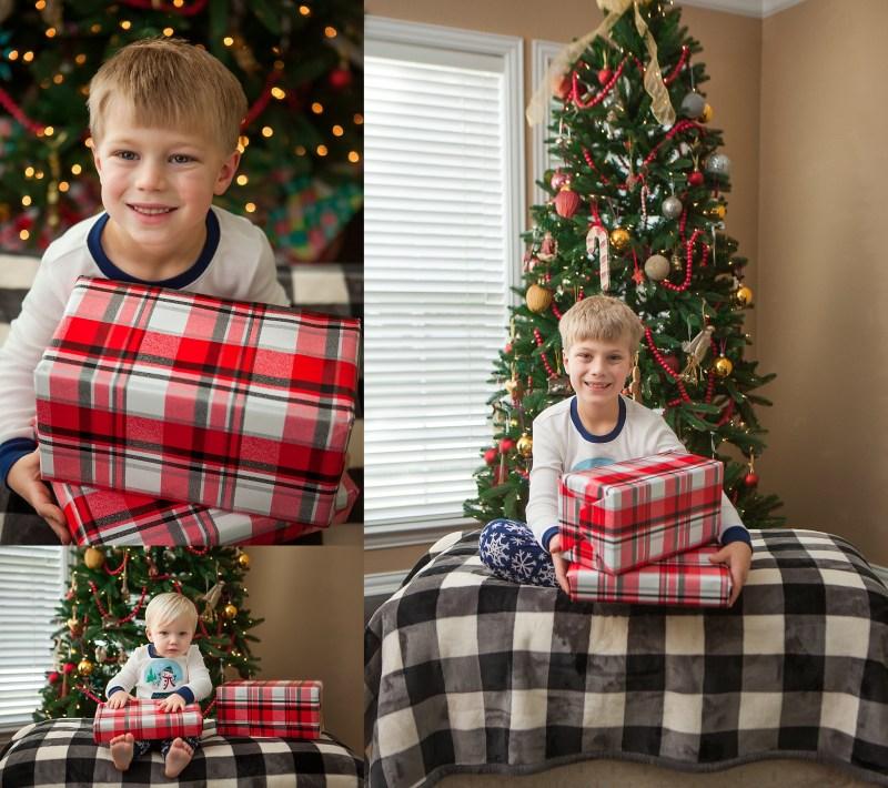 Christmas Mini Session DFW Family Photographer