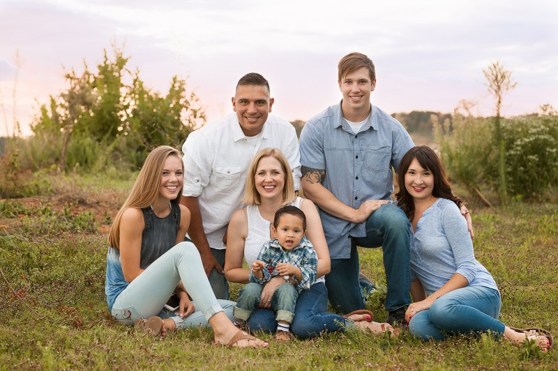 Flower Mound Family Photography