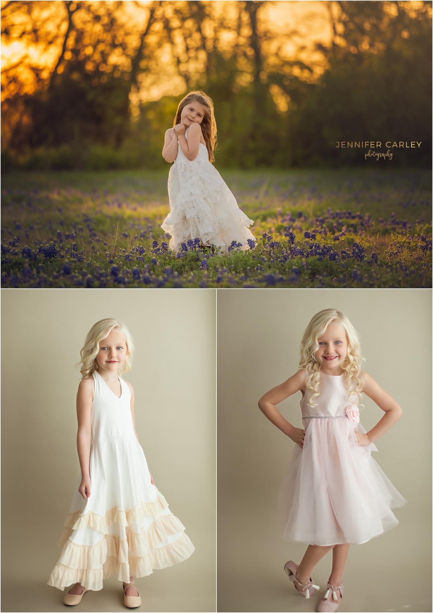 client wardrobe closet dallas child photographer