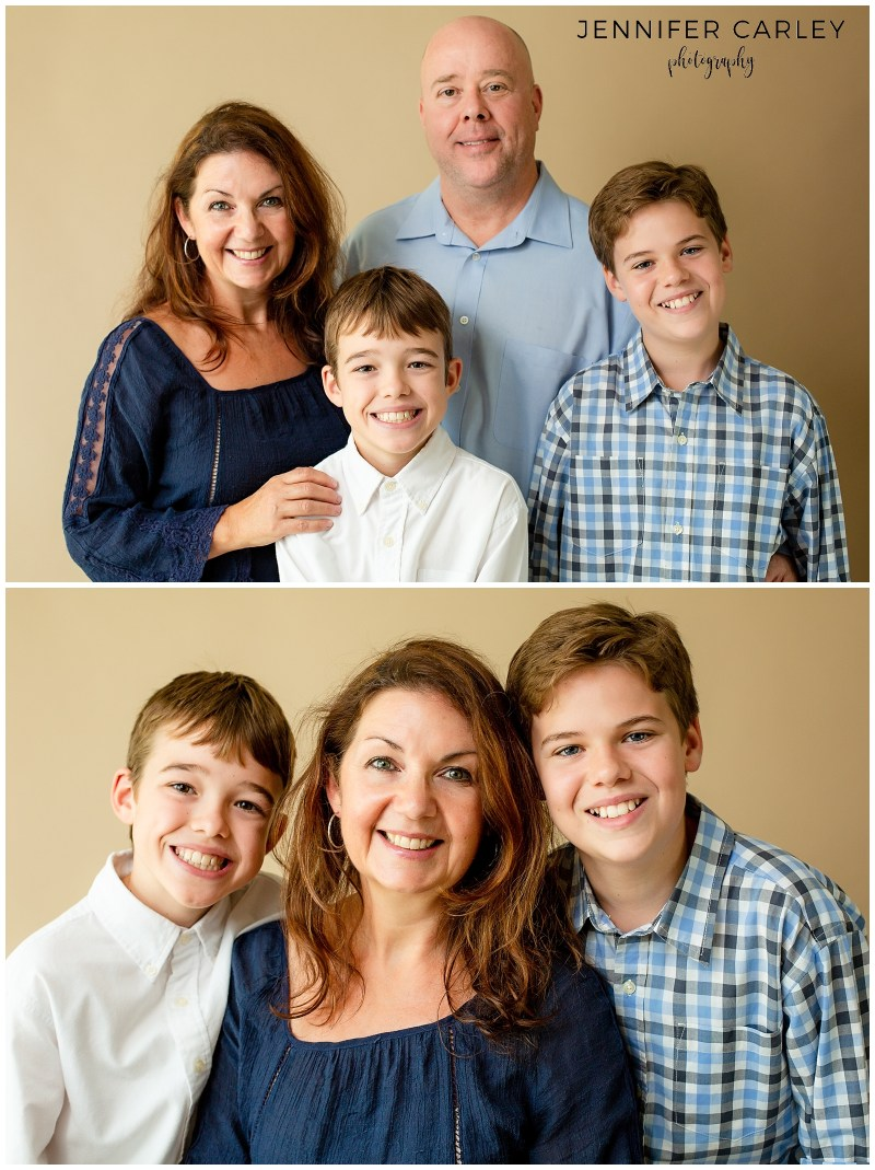Flower Mound Family Portraits Dallas Studio Photography