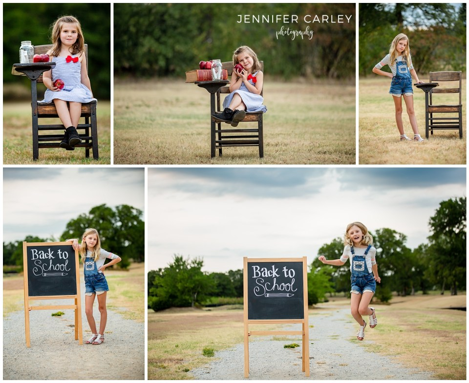 Flower Mound Child Photographer Back to School