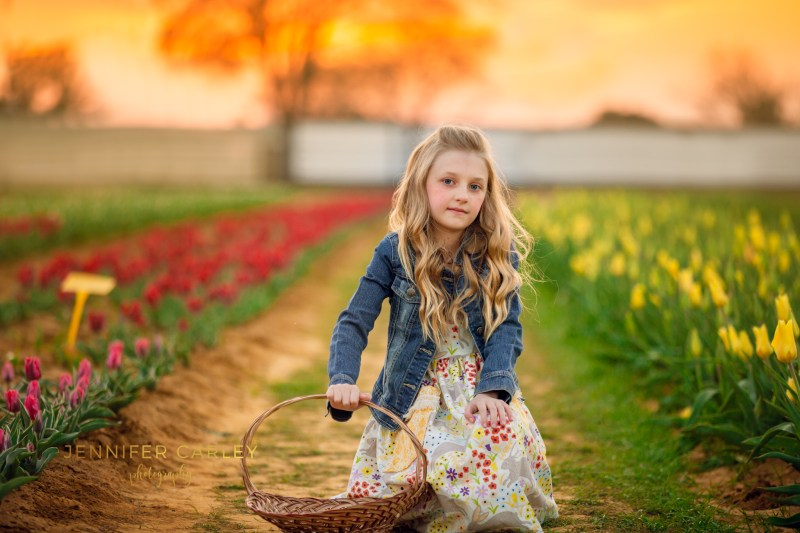 Child and Family Photographer Flower Mound Pilot Point Texas Tulips
