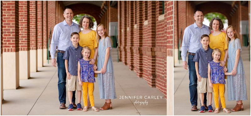 Southlake ColleyvilleFamily Photographer Main Street Historic Grapevine Family Photos