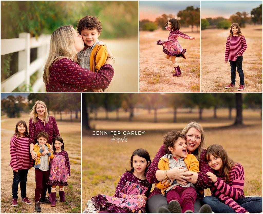 Matilda Jane Fall Family Photos Dallas TX Trunk Keeper