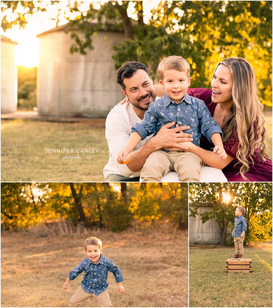 Green Acres Farm Memorial Park northlake family Photographer Fall Family Photos