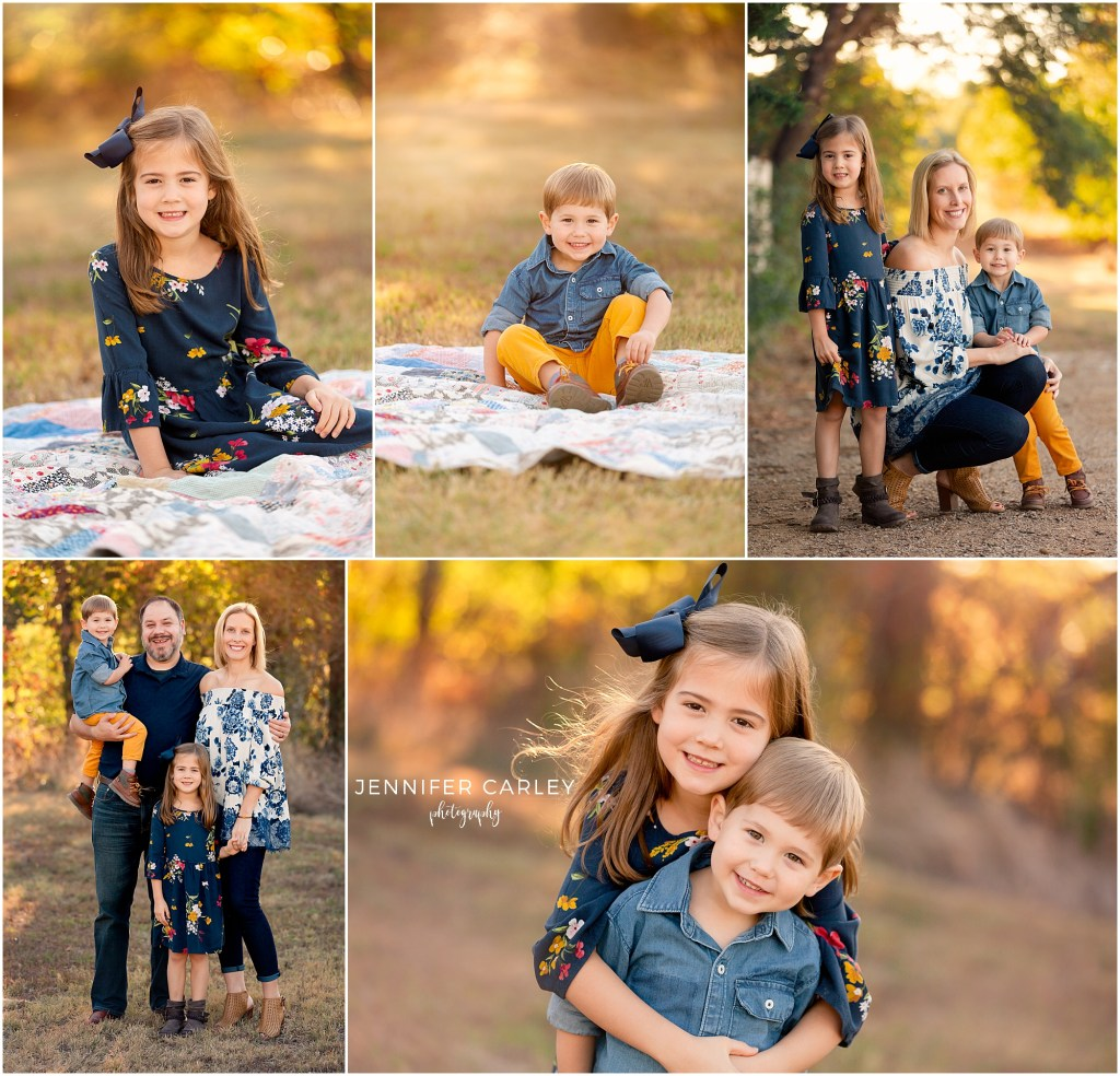 Fall Family Photographer DFW Plano