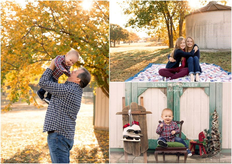 DFW Fall Family Photographer, DFW holiday photos, christmas baby, dad and baby, sisters, siblings photos