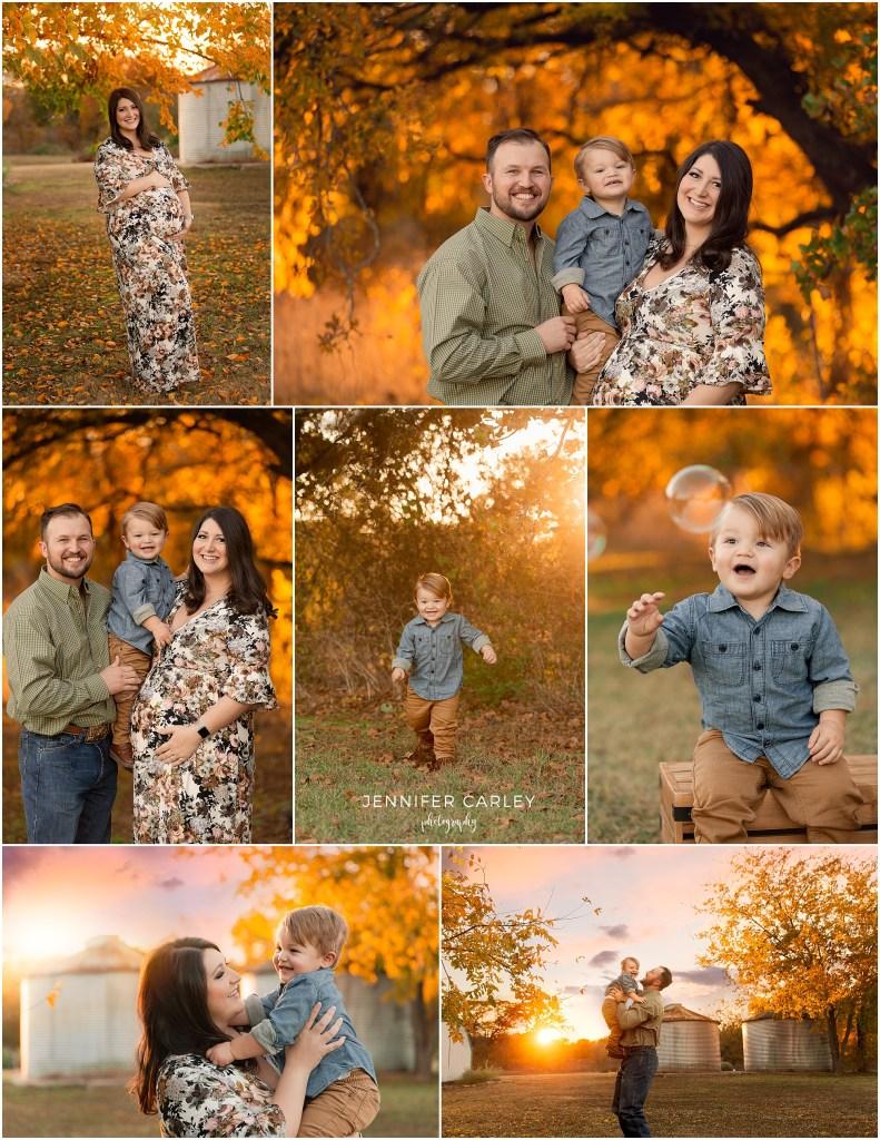 DFW Fall Mini Sessions, DFW maternity photos, maternity photographer, family photographer, green acres memorial park