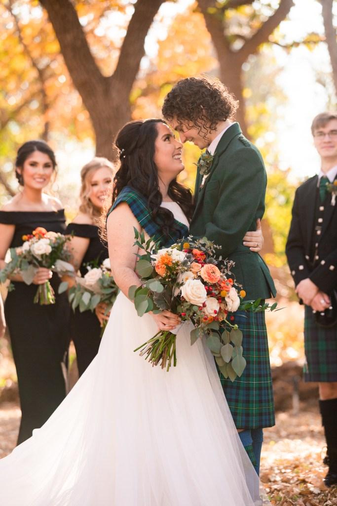 TWU Wedding, Scottish Wedding, Texas Womens University Wedding, Little Chapel in the Woods, Wedding Kilt, DFW Wedding Photographer, Dallas Wedding Photographer