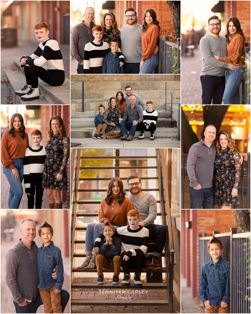 DFW Family Portraits, Old Town Lewisville