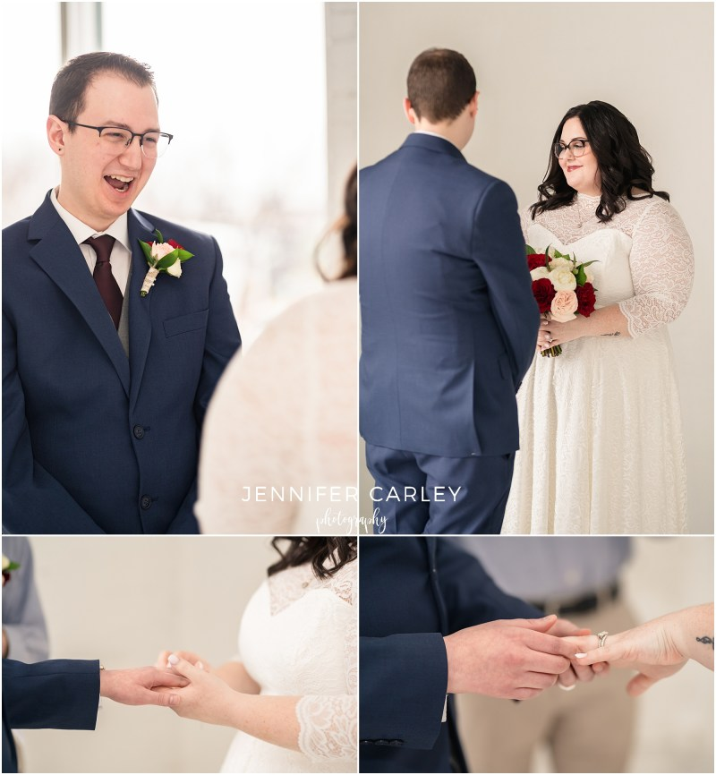Dallas elopement, dallas elopement wedding photographer, dallas wedding, dallas bride, the lumen room, elopements, dfw elopement, denton bride, north texas brides, wedding photography, small wedding, wedding day, wedding vows, wedding rings