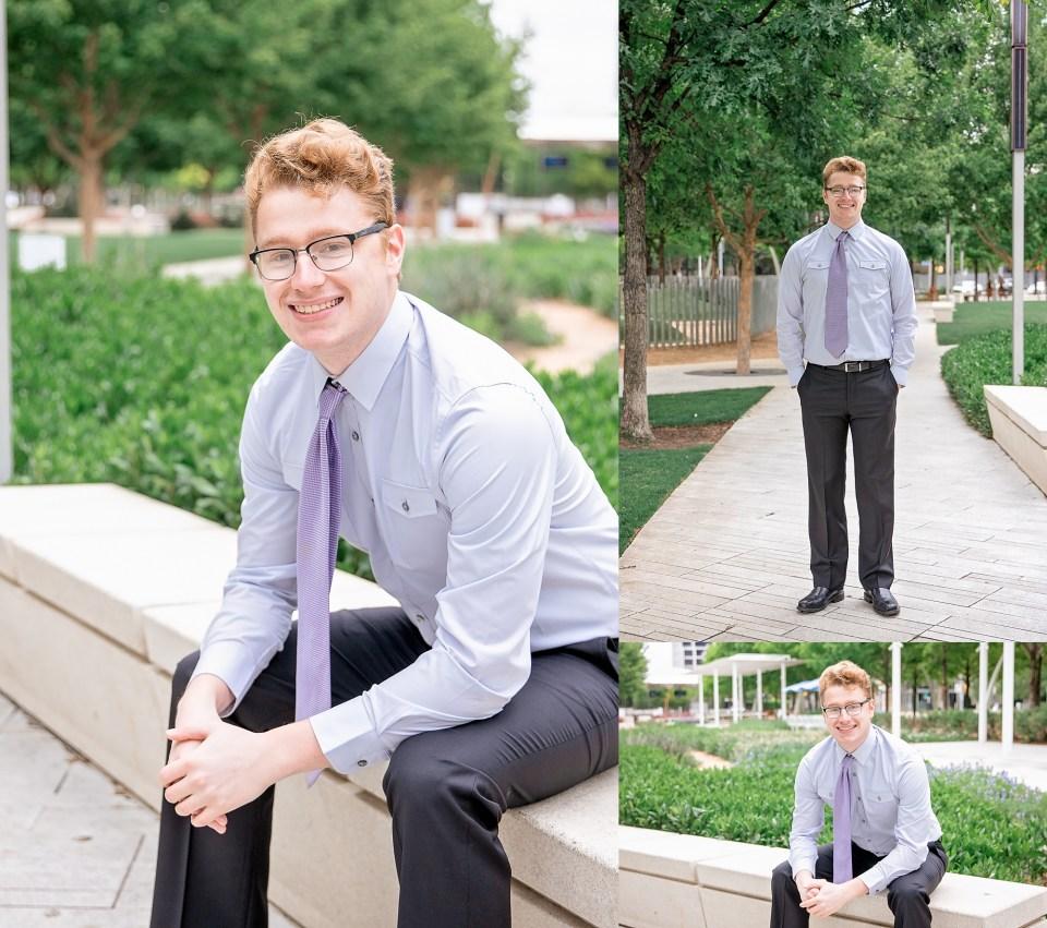 Senior Portraits at Klyde Warren Park, Dallas Arts District portrait session, downtown dallas senior portraits, Senior graduation, college graduation, downtown Dallas